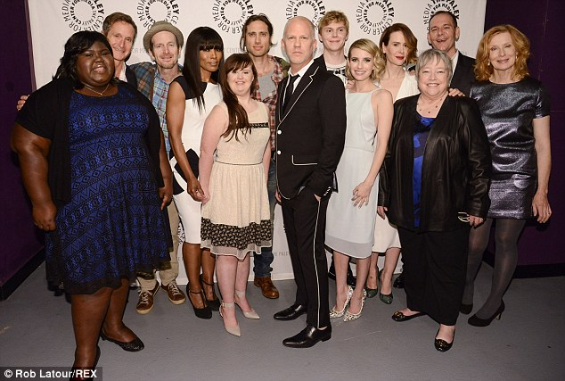 Same Cast New Characters Producer Ryan Murphy Centre And The Cast
