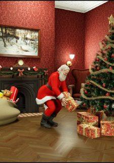 Santa Is Cumming Blackadder Porn Comics 1