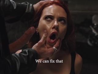 Scarlett Johansson Giving Blowjob