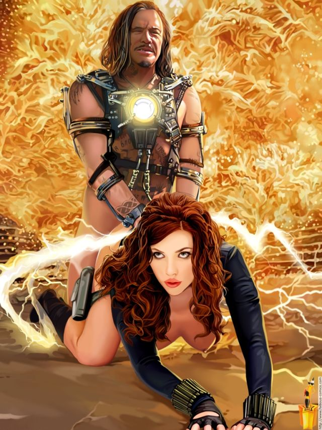 Hulk scarlett porn johansson Scarlett Johansson