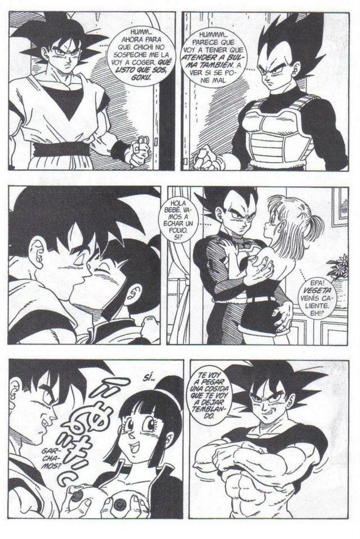 Sexo De Dragon Ball Con Bulma Vegeta Goku Milk Ver 1