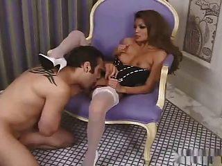 Sexy Asian Charmaine Stars Sex In High Heel Stockings Tmb
