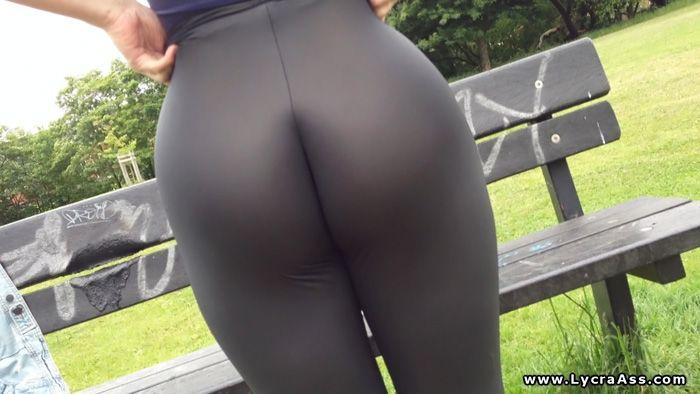 hot lycra ass
