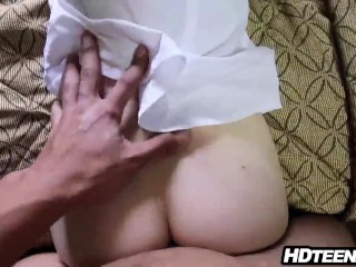 Sister Walks On Masturbating Brother