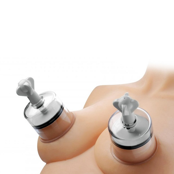 Size Matters Nipple Suckers With Powerful Suction Clear