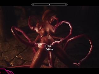 Skyrim Estrus Mod Hentai Tentacles 3
