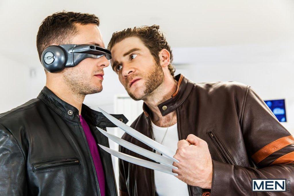 Super Gay Hero Men A Gay Porn Parody Part Colby Keller Brenner Bolton