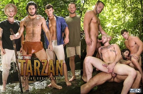 Supergayhero Tarzan A Gay Parody Part Diego Sans Tobias Colton Grey Luke Adams