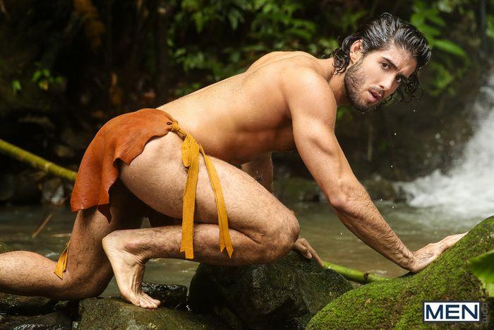 Tarzan Gay Porn Parody Diego Sans Colton Grey Luke Adams Tobias 12