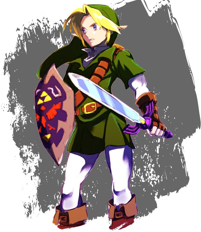 The Legend Of Zelda Ocarina Of Time Adult Link The Legend Of Zelda
