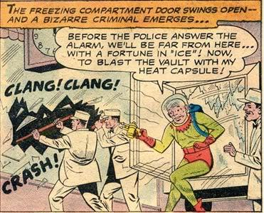 The Very First Time Batman Met Freeze In Batman Then Known As Zero Freeze Was In The Midst Of Stealing Diamonds