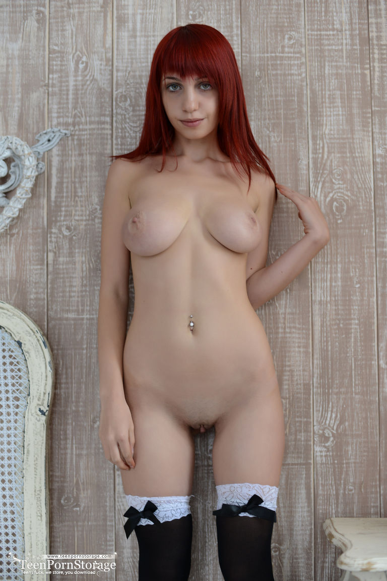 This Incredible Redhead Teen Does Not Need To Do Much To Seduce Any Man Because She Has The Body That Everyone Desires