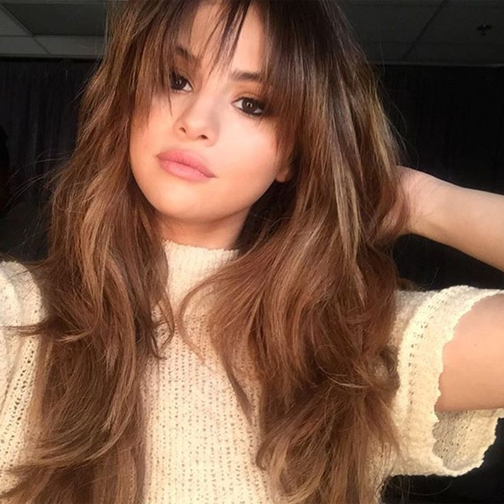 This Roundup Of Your Favorite Celebrities And Models Wearing Bangs Will Inspire You To Get Your
