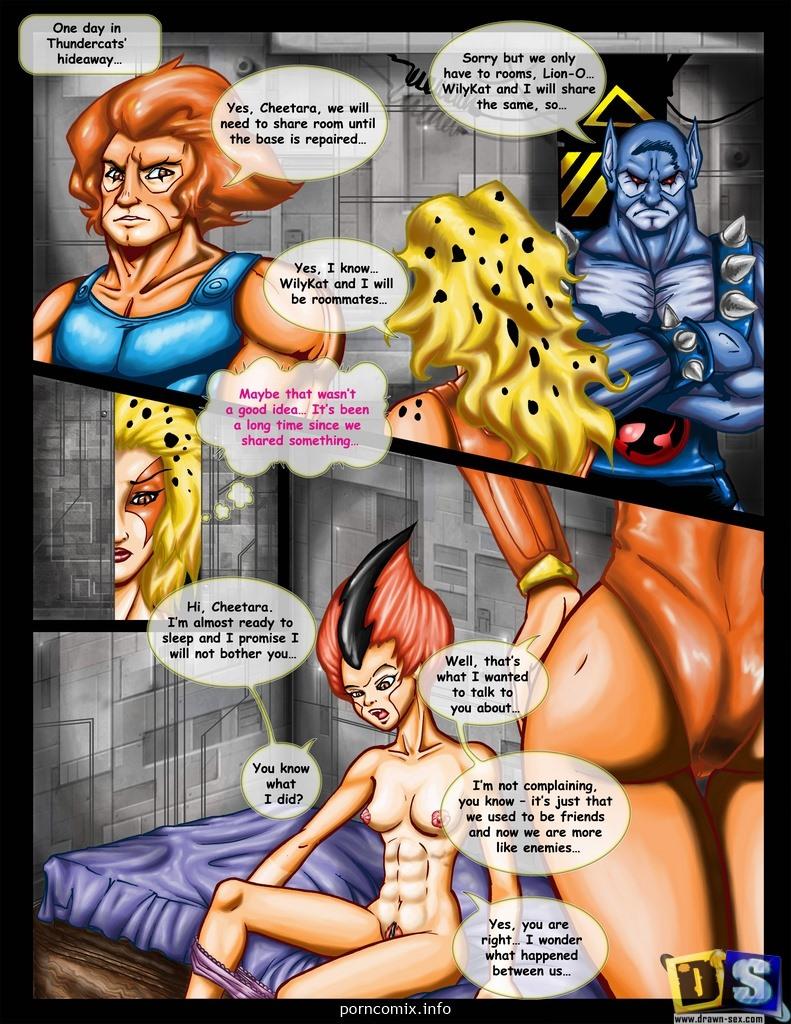 Thunder Cats Lesbi Pussycat Sex Comics