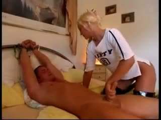 Tied Down Handjob Cumming Exiporn Com