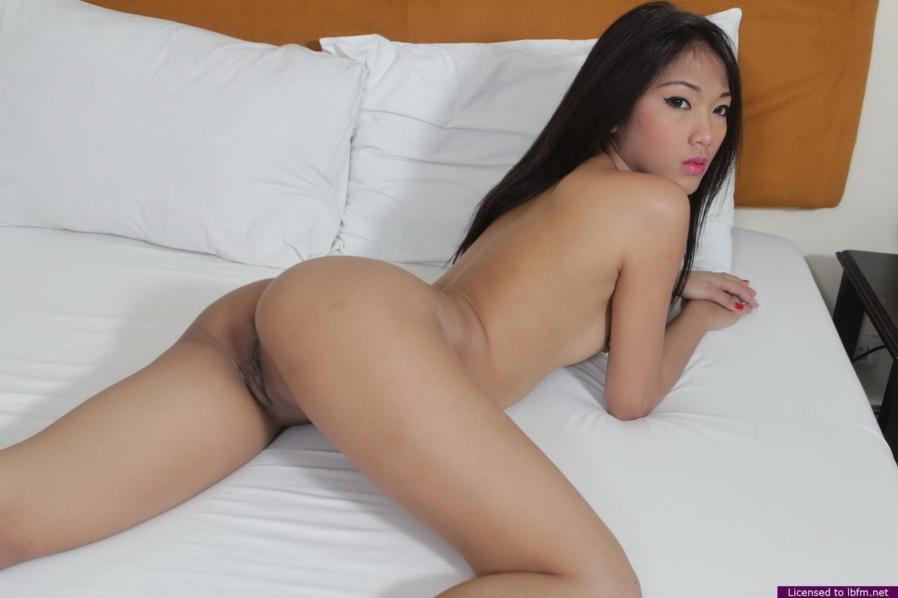 Tiny Asian First Timer Baring Tiny Tits And Virgin Pussy On Motel Bed 1