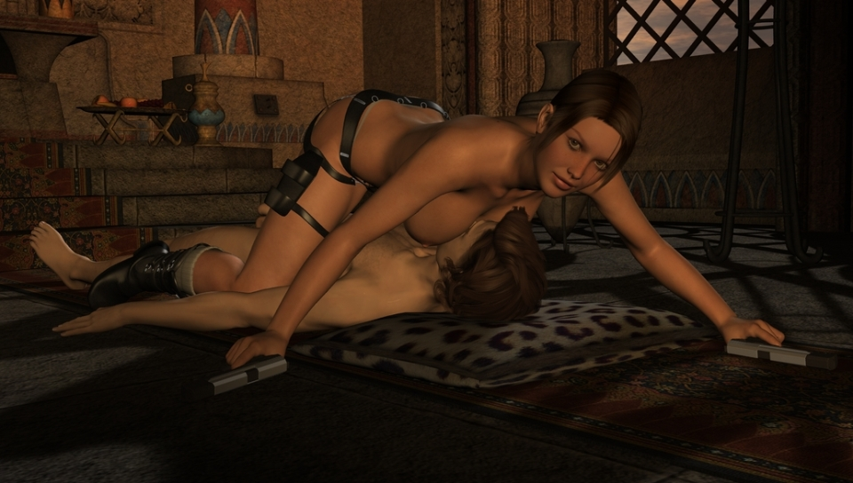 Tomb Raider Underworld Nude