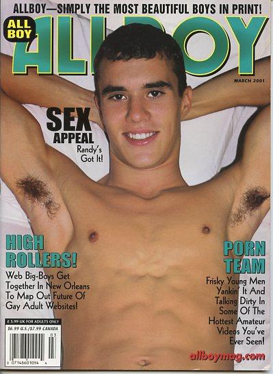 Very Good Condition March Allboy Magazine
